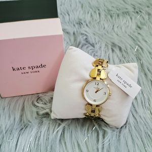 NWT Kate Spade Annadele Stainless Steel Watch 30mm